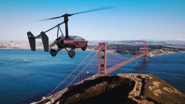 荷兰产世上首款商业量产型空陆载具