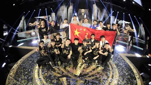中国战队夺冠,韩国解说惨叫连连