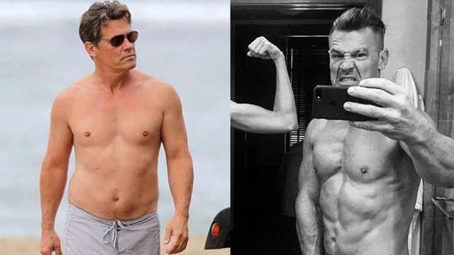 为演灭霸,他50岁练成肌肉型男