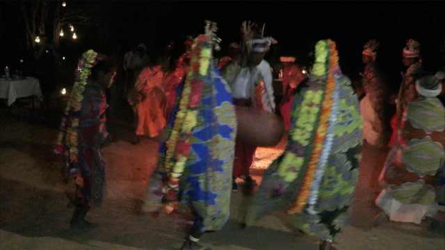 迷!这是森林最古老部落的特色舞蹈