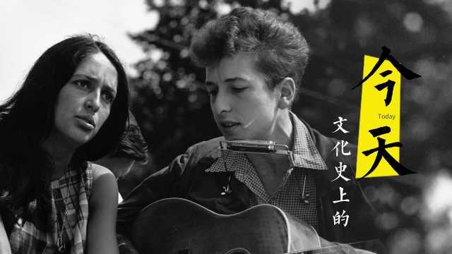 那年鲍勃·迪伦22岁,在唱随风而逝