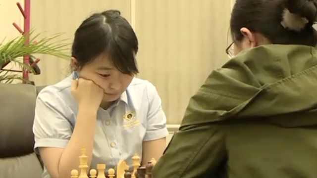90后!上海首位国际象棋棋后诞生了