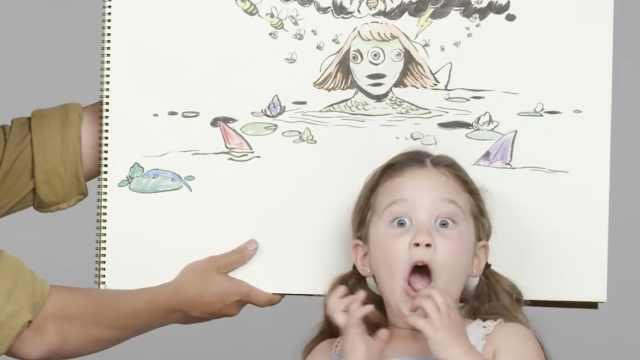插画师画出孩子的恐惧:惊声尖叫吧!