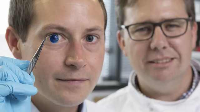 突破!纽大3D打印世界首例人工角膜