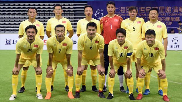 国际传奇球星赛,中国3-9惨败西班牙