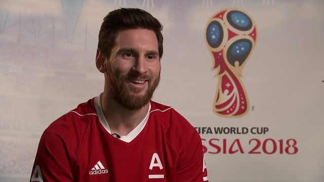 俄国家电视台专访梅西:他是非人类
