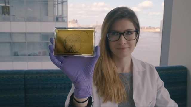 厉害!美女用酵母菌作世界名画
