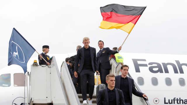 德国带最强大保障团,还有12吨物资
