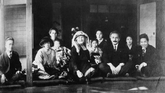 爱因斯坦日记曝光:中国人肮脏迟钝