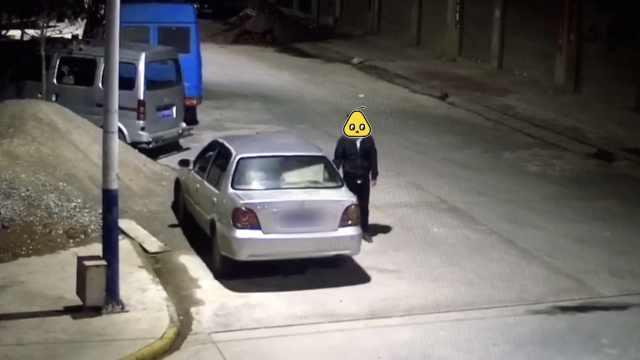 他路邊拉車門盜竊,百輛車竟拉開8輛
