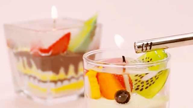 自由自在的组合!蛋糕蜡烛