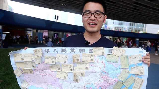高考发挥失常,他搭车借宿走遍中国
