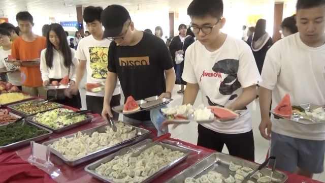 吃着就哭了!老师包5千饺子送毕业生