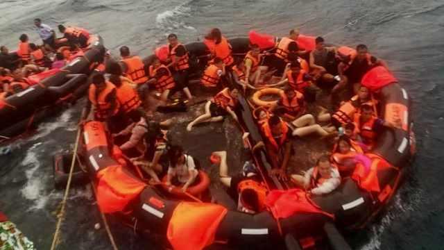 华人旅行社谈沉船:当时浪实在太大