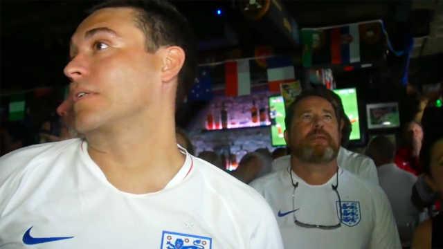 洛杉矶英国球迷:心情像坐过山车