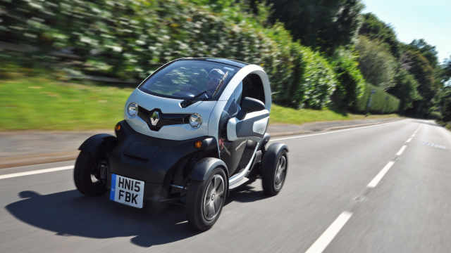 畅销欧洲的电动小车,雷诺Twizy