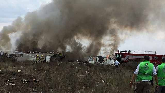 奇迹!墨西哥客机坠毁101人全部生还