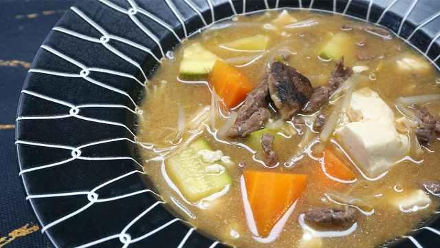 大酱汤既是汤又是菜,配菜可以调整