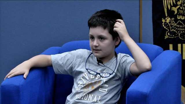 墨12岁男孩考上名牌大学读医学物理