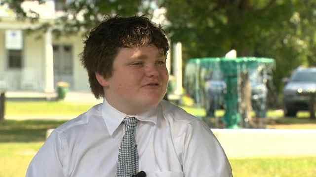 迷恋政治,美国13岁少年参选州长