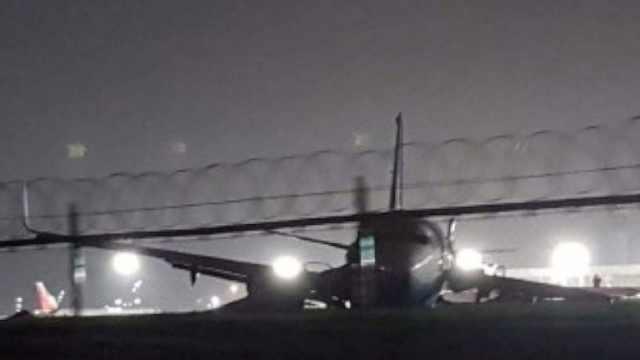 厦航航班偏出跑道,165人安全撤离