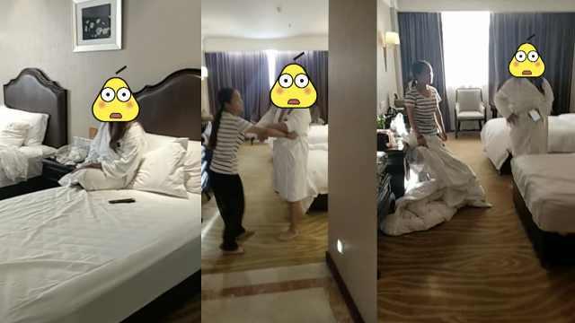 女老赖玩视频暴露行踪,被前夫堵住