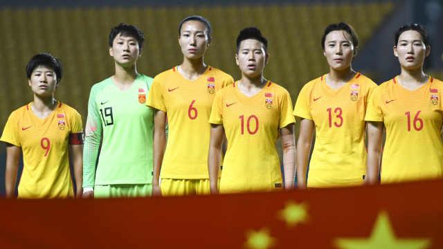 震惊了!中国女足亚运狂胜对手16球