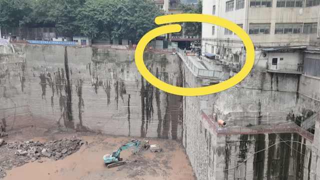 重庆车库入口即悬崖,想停车先练胆