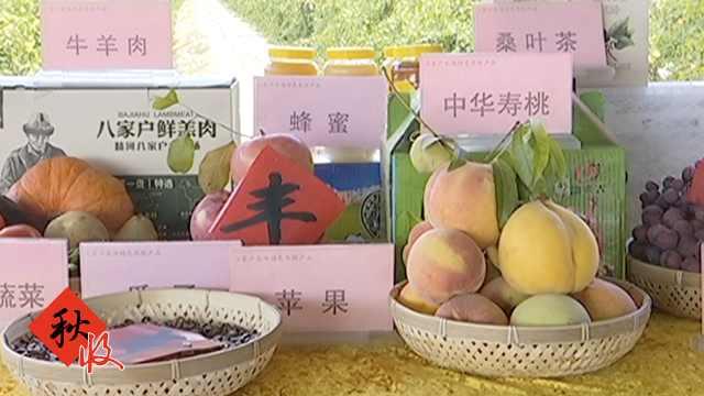 新疆农民庆丰收,带自家农产品走秀