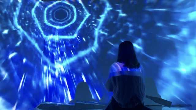 声光电打造两江交汇,变身表白神器