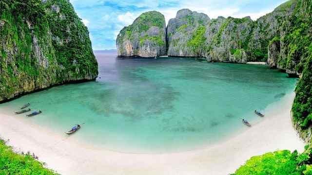 因小李子出名,泰国海滩无限期关闭