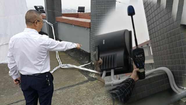 断信号小区物业:实测辐射未超国标