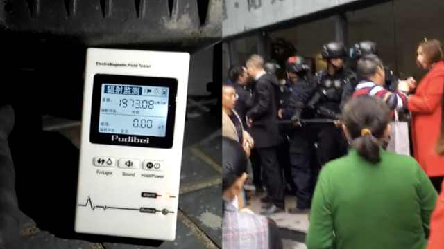 住户被断手机信号,抱怨小区维权者