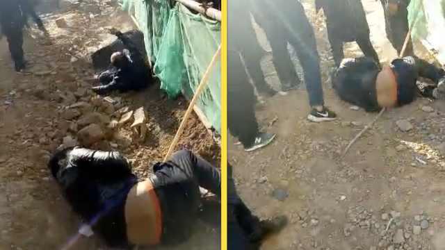 3工人为讨薪切断用电,遭开发商殴打