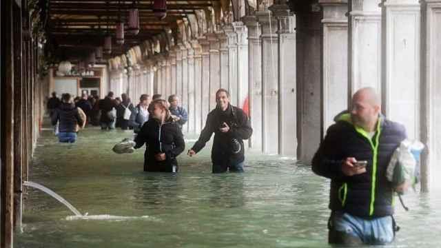 10年最严重洪水,威尼斯70%被淹