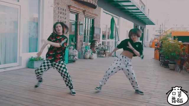 舞蹈老师帅气舞姿,热情燃爆屏幕