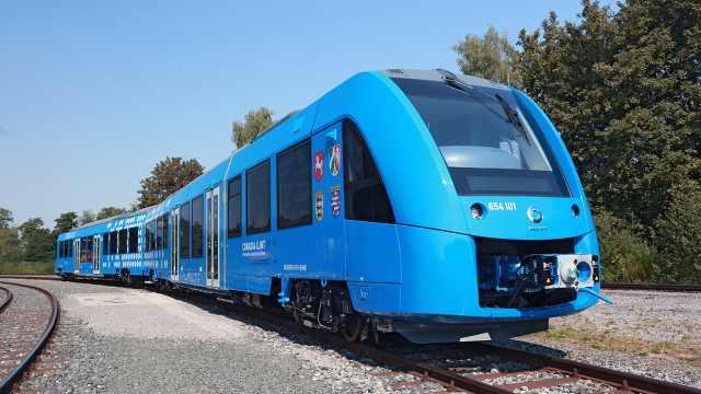 史上最环保火车来了:氢气作燃料