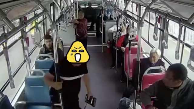 只因问路没吱声,乘客冲向公交司机
