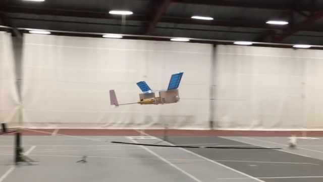 世界第一架离子推进飞机试飞成功!