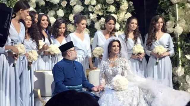 马来西亚最高元首娶俄罗斯选美冠军