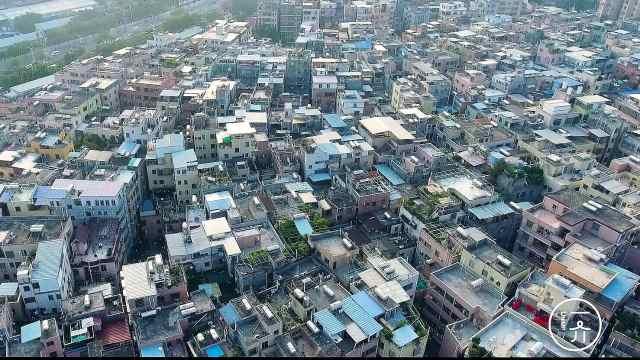 它是广东最大的城中村之一:车陂
