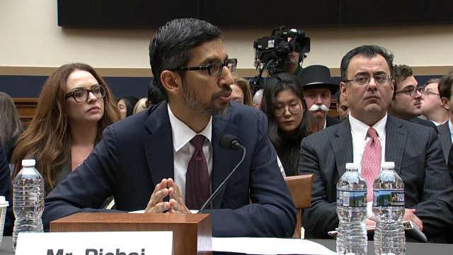 谷歌CEO:搜索业务没有计划回中国