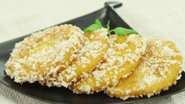 南瓜饼,记忆中的味道