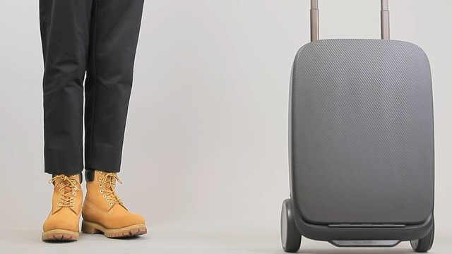 能跟着自己走的行李箱,你敢用吗?