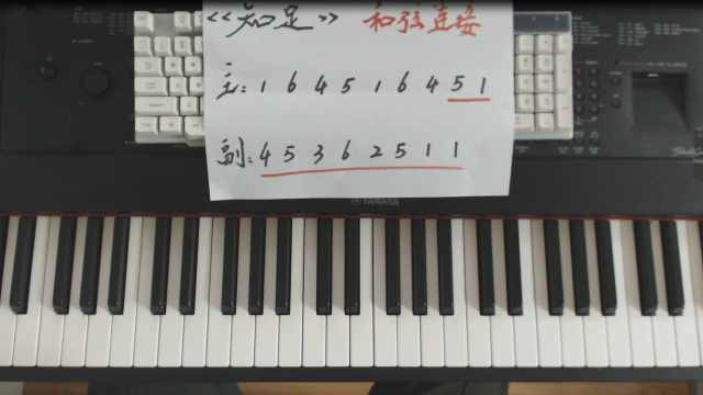 五月天《知足》钢琴弹唱教学