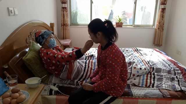 母患病,15岁孝女增重捐髓:不能没妈