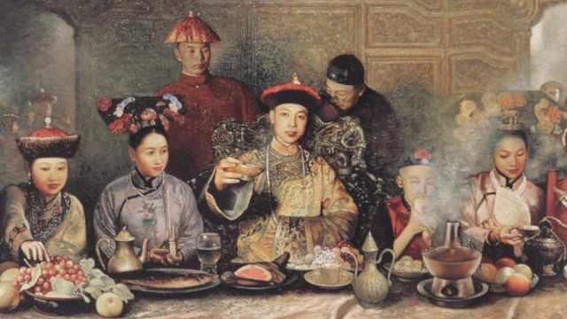 皇帝吃的年夜饭,是个什么水平?