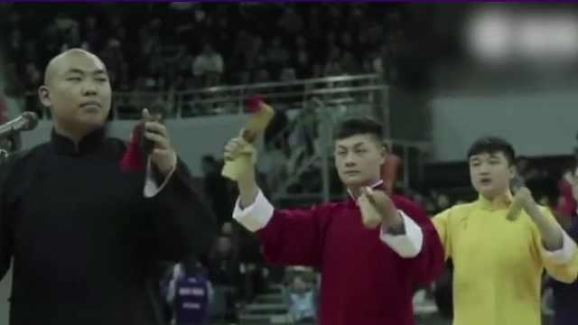 天津男篮啦啦队打快板,这气势赢了