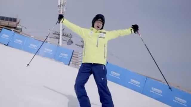 俞敏洪谈滑雪:上了雪道才知道快乐
