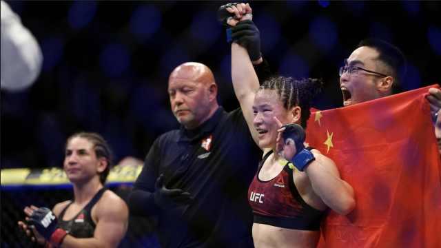 中国格斗女王击败世界高手,创历史
